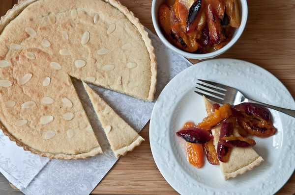 Frangipane with Roasted Stone Fruit