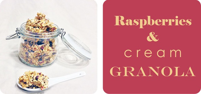 Raspberries & Cream Granola