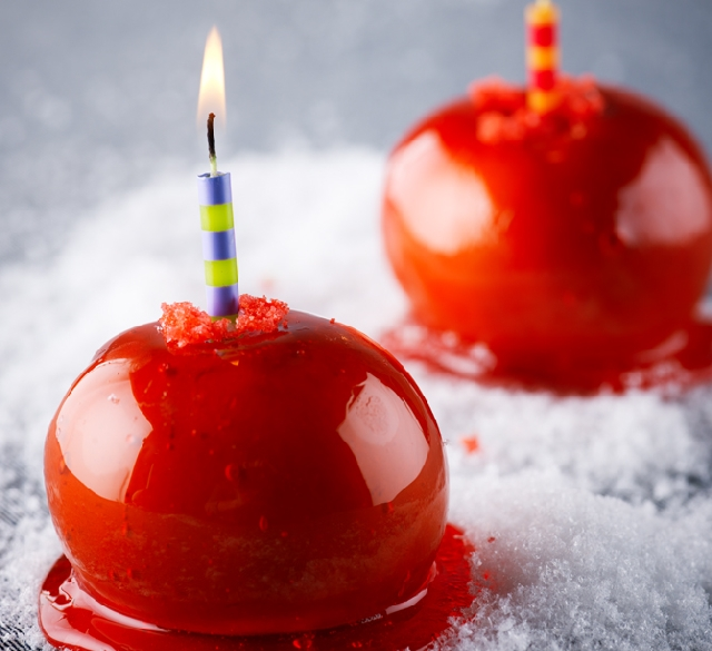 Firecracker Candy Apples