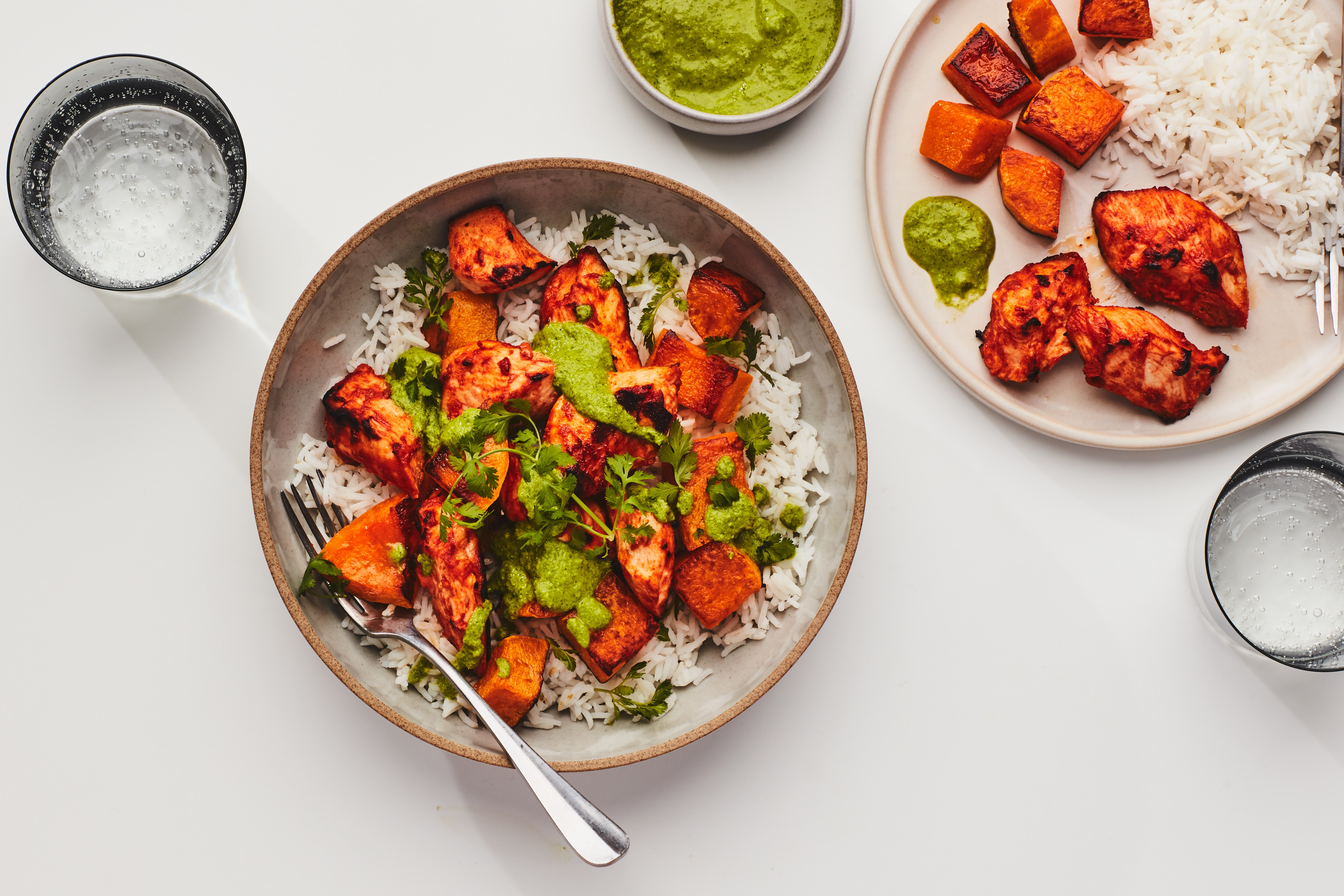 Tandoori Chicken Bowls