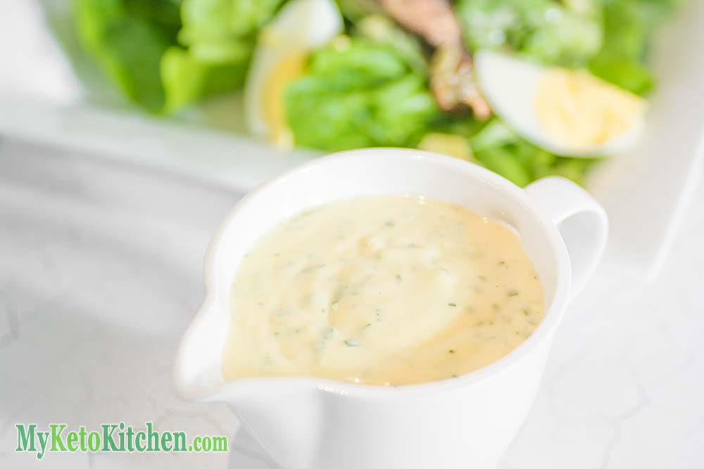 Low Carb Caesar Salad Dressing - Healthy & Delicous