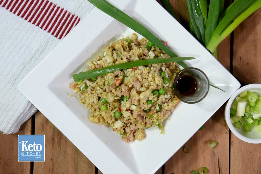 Cauliflower Rice Recipes Stir Fry - Fried in Wok [With Video too]
