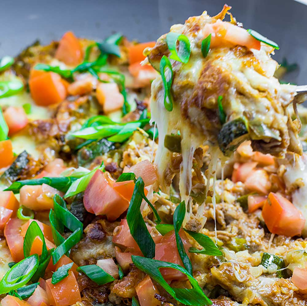 Low Carb Casserole - Mexican One Pot