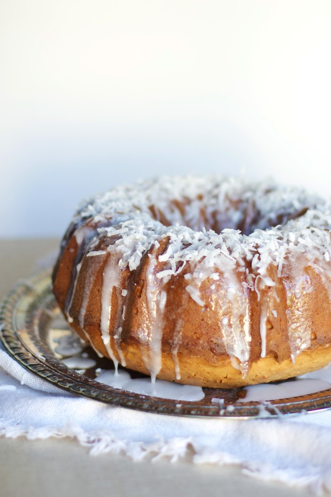 Coconut Cream Bundt Cake