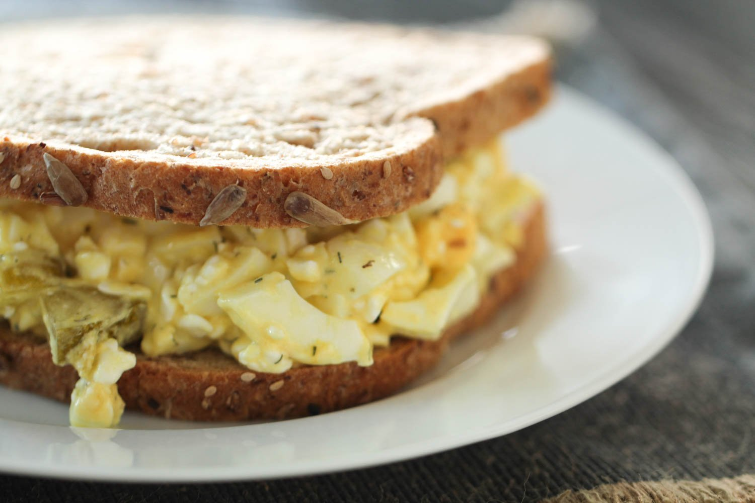 High Protein Egg Salad with Cottage Cheese