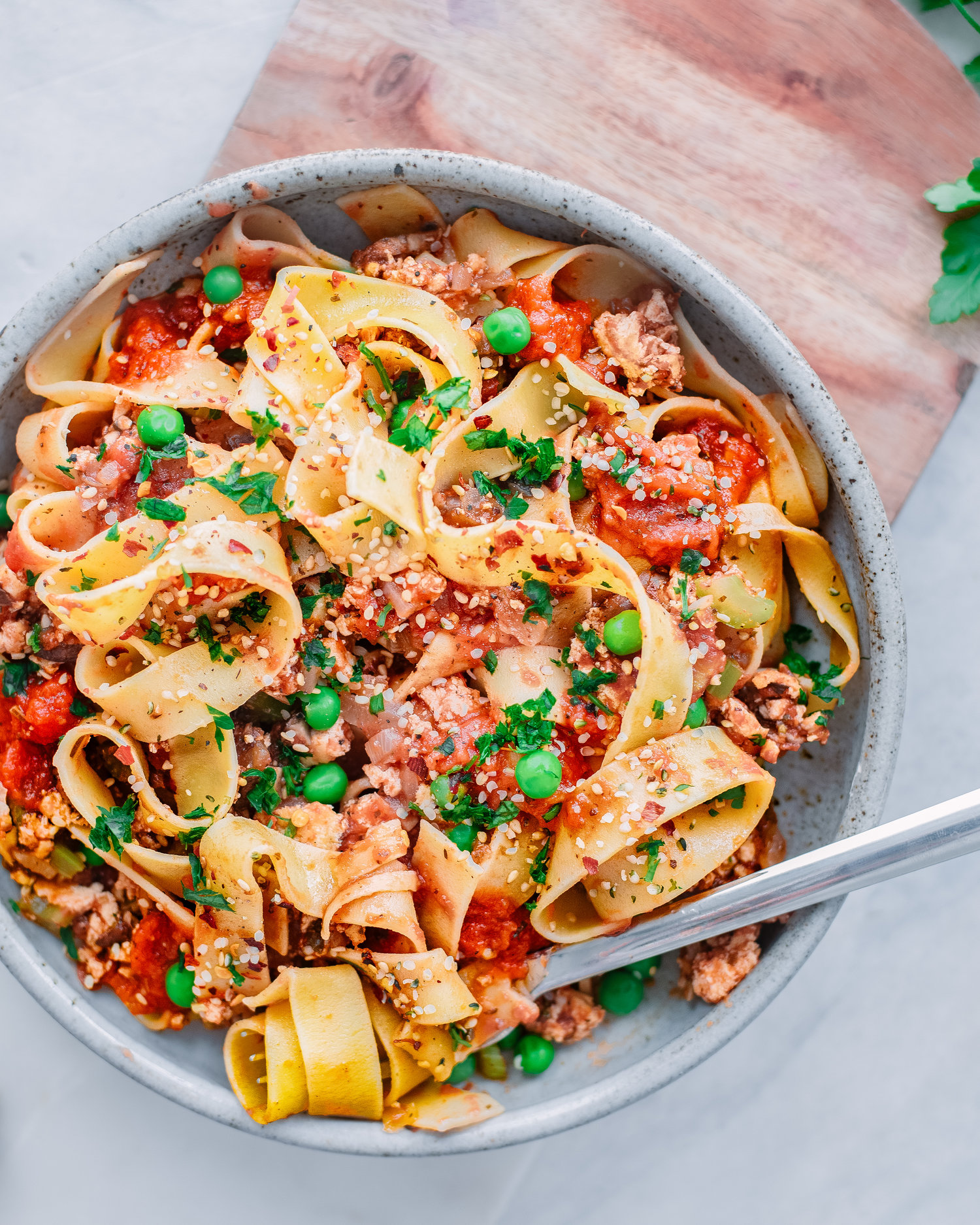 Instant Pot Vegan Video Bolognese  — Rainbow Plant Life