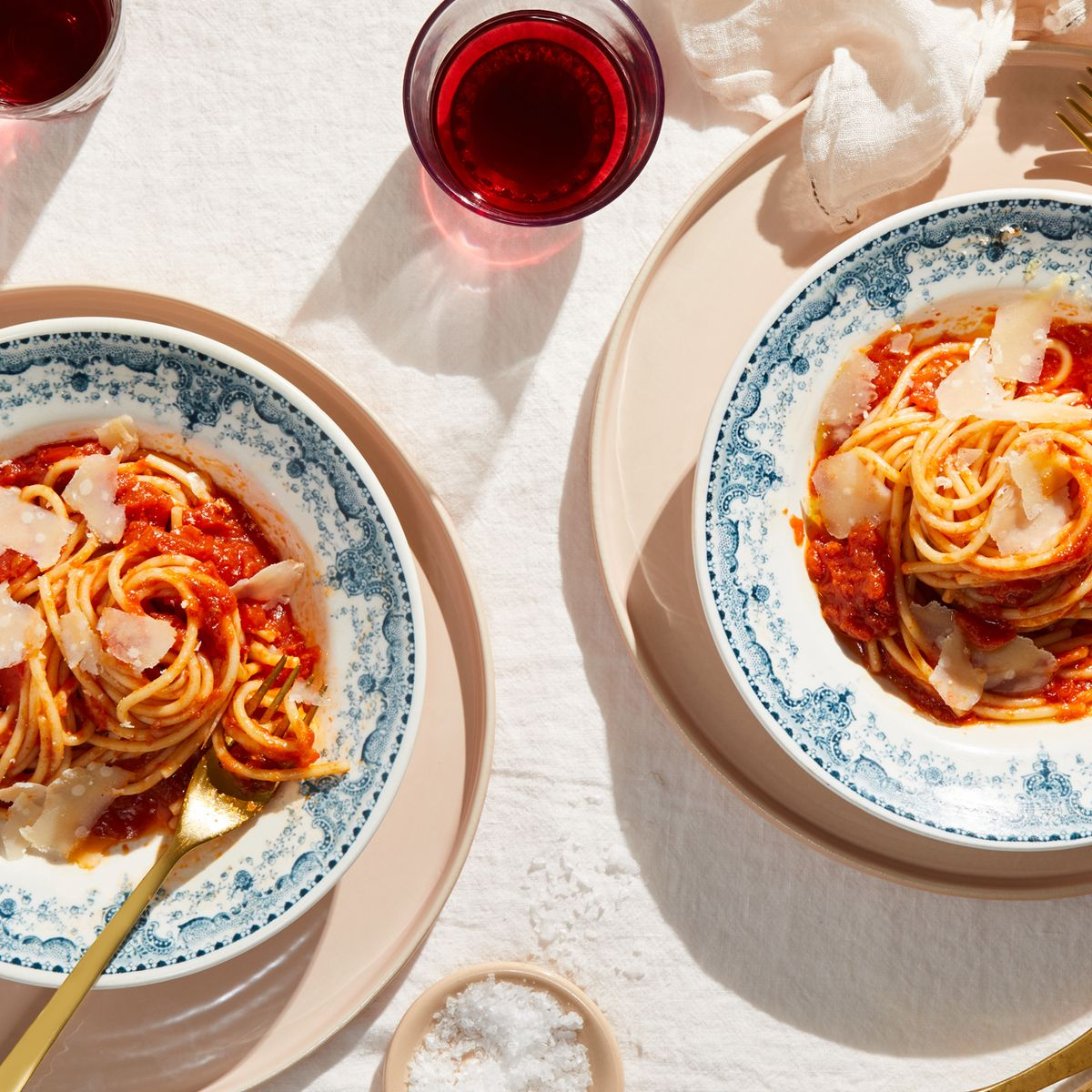 Marcella Hazan's Tomato Sauce With Onion & Butter