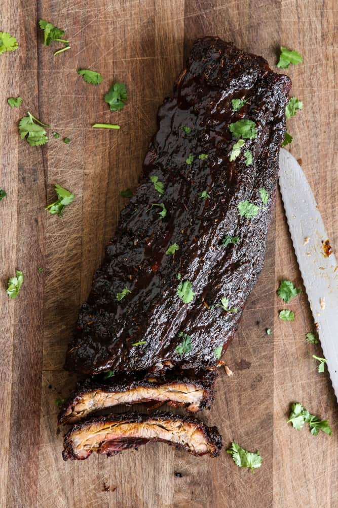 Grilled Cajun RibsEclectic Recipes