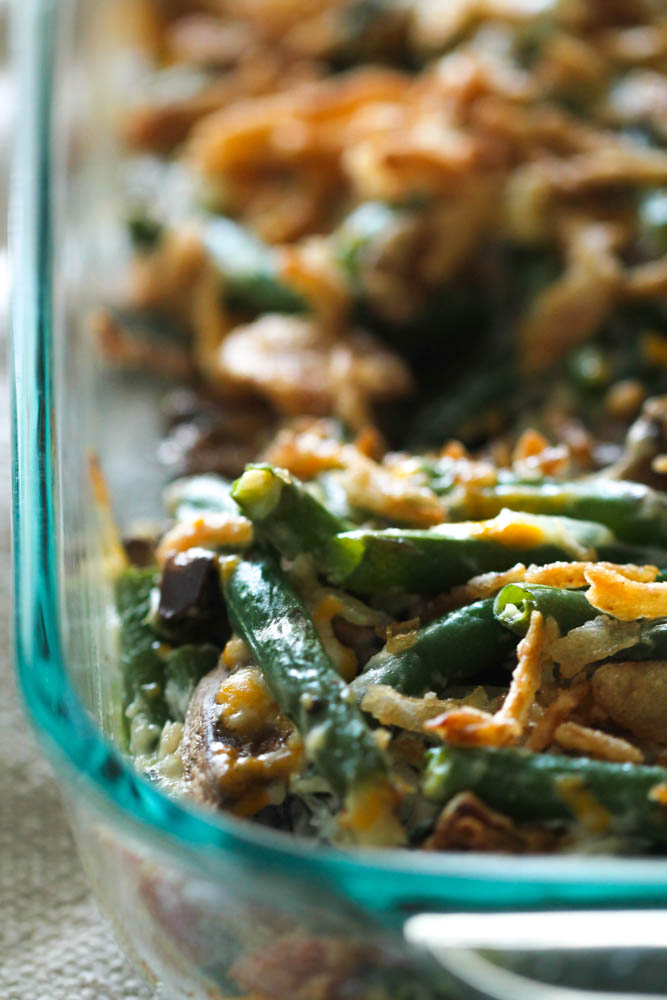 Homemade Green Bean Casserole without Condensed Soup