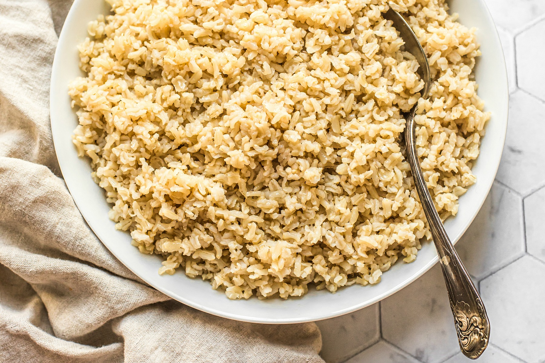 Soaked Brown Rice