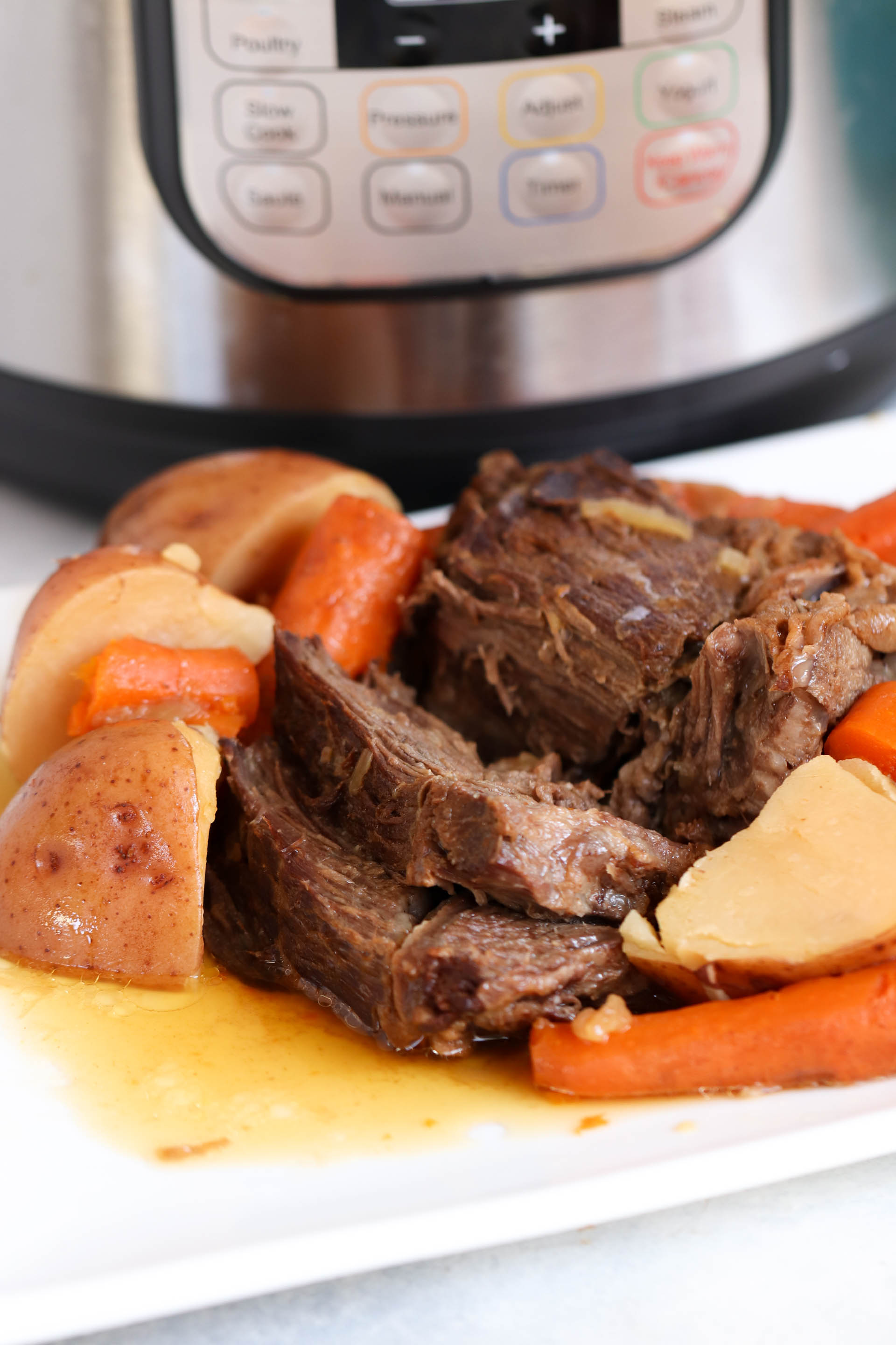 Easy Instant Pot Beef Pot Roast