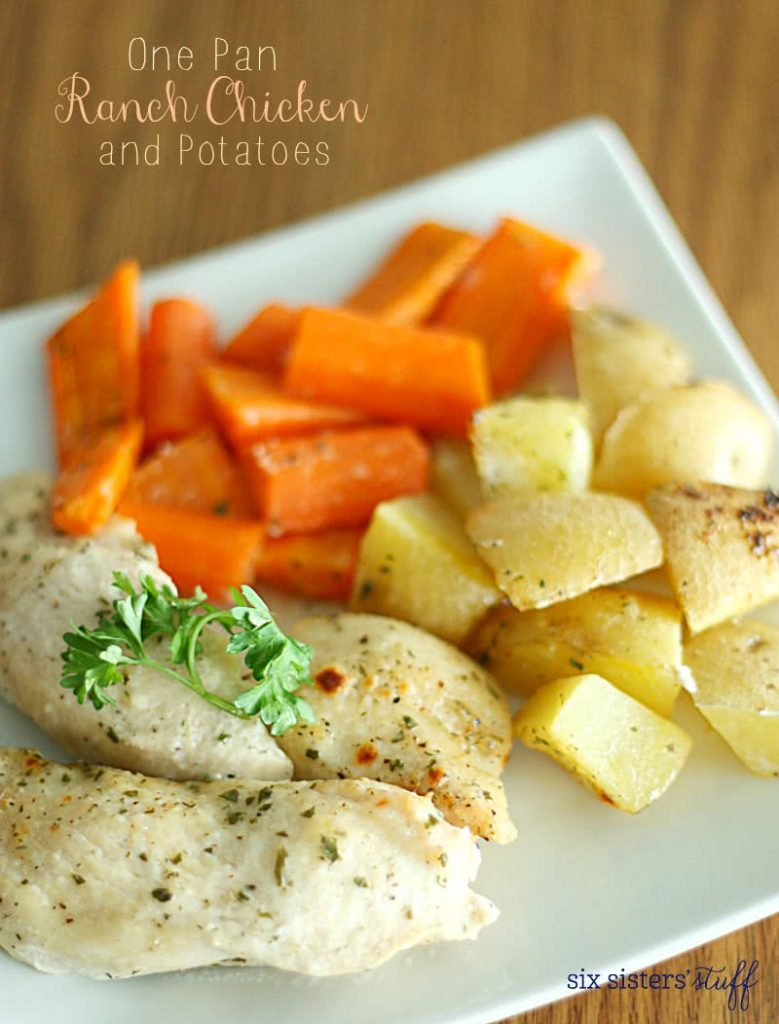 One Pan Ranch Chicken and Potatoes