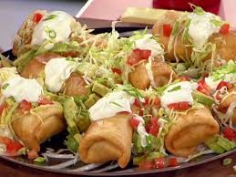 Mexican beef chimichangas